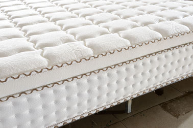 China Euro Firm Bonnell Spring Mattress , King Size Bonnell Memory Mattress supplier