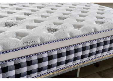 China Euro Pocket Sprung Mattress For Hotel Home Knitted Fabric OEM Service supplier
