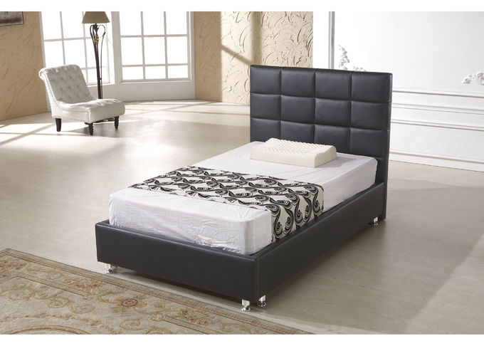 Modern Italian Leather Beds For Hotel Project And Apartment Simple Design